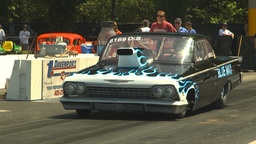 HD2009-6-27-61 motorsports, drag racing doorslammer 62... Stock Video Footage