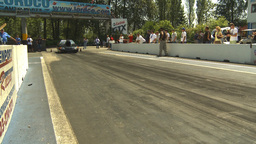 HD2009-6-27-63 motorsports, drag racing doorslammer burnout Stock Video Footage