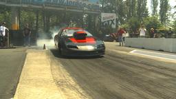HD2009-6-27-65 motorsports, drag racing doorslammer... Stock Video Footage