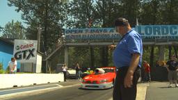 HD2009-6-27-67 motorsports, drag racing Prostock pontiac... Stock Video Footage