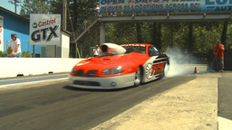 HD2009-6-27-67 motorsports, drag racing Prostock pontiac... Stock Video Footage