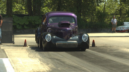 HD2009-6-27-69 motorsports, drag racing doorslammer... Stock Video Footage