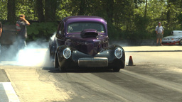 HD2009-6-27-69 motorsports, drag racing doorslammer... Stock Video Footage