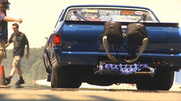 HD2009-6-27-73 motorsports, drag racing el camino burnout Footage
