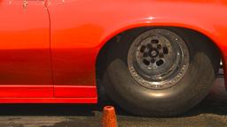 HD2009-6-27-85 motorsports, drag racing doorslammer... Stock Video Footage