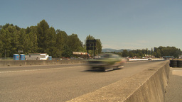 HD2009-6-28-2 Motorsports, drag racing, top end street stock Stock Video Footage