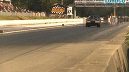 HD2009-6-28-8 Motorsports, drag racing, top end doorslammer Stock Video Footage