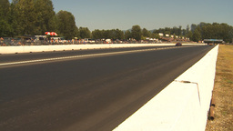 HD2009-6-28-14 Motorsports, drag racing, top end doorslammer Stock Video Footage