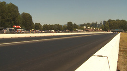 HD2009-6-28-16 Motorsports, drag racing, top end doorslammer Stock Video Footage