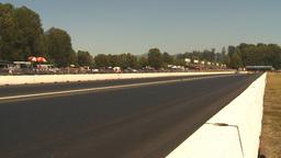 HD2009-6-28-16 Motorsports, drag racing, top end doorslammer Stock Video Footage