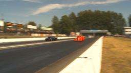 HD2009-6-28-18 Motorsports, drag racing, mid track... Stock Video Footage