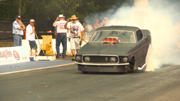 HD2009-6-28-24 Motorsports, drag racing, mid track nitro... Stock Video Footage