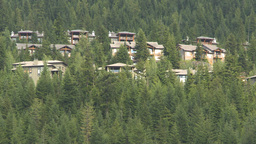 HD2009-6-29-3 Whistler condos town montage Stock Video Footage