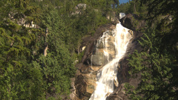 HD2009-6-29-13 shannon falls tilt up reveal Stock Video Footage