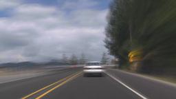 HD2009-6-30-2 Sea to sky drive TL Stock Video Footage