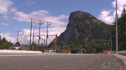 HD2009-6-30-4 Sea to sky highway with mountain Footage