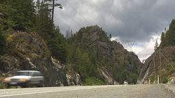HD2009-6-30-10 Sea to sky highway Stock Video Footage