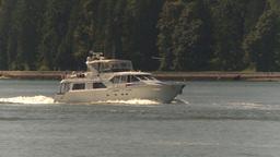 HD2009-6-31-4 pleasure boat follow Stock Video Footage