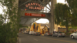 HD2009-6-31-34 Granville island entrance Stock Video Footage