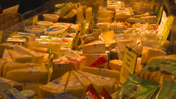 HD2009-6-31-38 Granville island market cheese and deli 3... Stock Video Footage