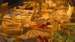 HD2009-6-31-38 Granville island market cheese and deli 3 shot Footage