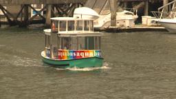 HD2009-6-31-44 Granville island aqua bus Stock Video Footage
