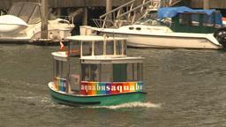 HD2009-6-31-44 Granville island aqua bus Footage