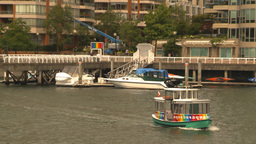 HD2009-6-31-44 Granville island aqua bus Stock Video Footage