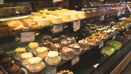 HD2009-6-32-1 pastries 2shot Stock Video Footage