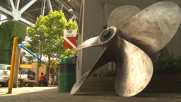 HD2009-6-32-11 ships propellor Stock Video Footage