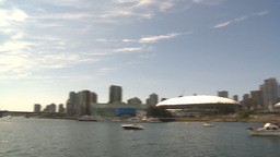 HD2009-6-32-18 BC Place and skyline Stock Video Footage