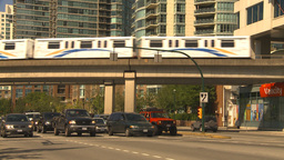 HD2009-6-32-26 traffic skytrain and condos Footage
