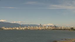 HD2009-6-32-33 vancouver skyline Stock Video Footage
