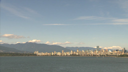 HD2009-6-32-37 vancouver skyline Footage