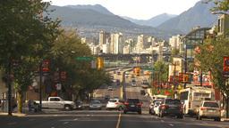 HD2009-6-32-39 traffic on street Stock Video Footage