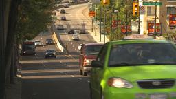 HD2009-6-32-41 traffic on street Stock Video Footage