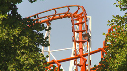 HD2009-6-33-9 loop rollercoaster Footage