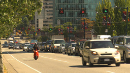 HD2009-6-33-43 rush hour traffic Stock Video Footage