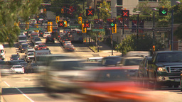 HD2009-6-33-45 rush hour traffic TL Stock Video Footage