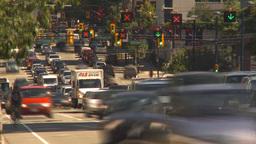 HD2009-6-33-45 rush hour traffic TL Footage