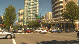 HD2009-6-34-2 Vancouver west end life montage Stock Video Footage