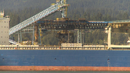 HD2009-6-34-16 cargo ship zoom zoom Stock Video Footage
