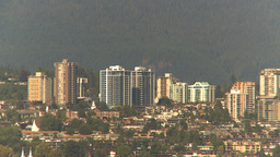 HD2009-6-34-28 North Van condos Stock Video Footage