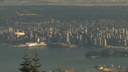 HD2009-6-34-38 Vancouver DT from summit Footage