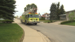 HD2009-6-15-2 firetrucks Stock Video Footage