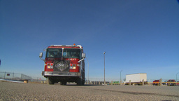 HD2009-3-1-19 fire truck Stock Video Footage