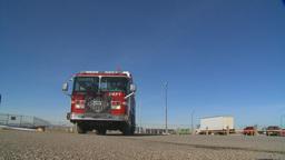 HD2009-3-1-19 fire truck Stock Video Footage