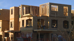 HD2009-3-2-1 condo construction workers Footage