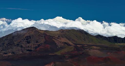 4K Timelapse of Haleakala Volcano, Hawaii Footage
