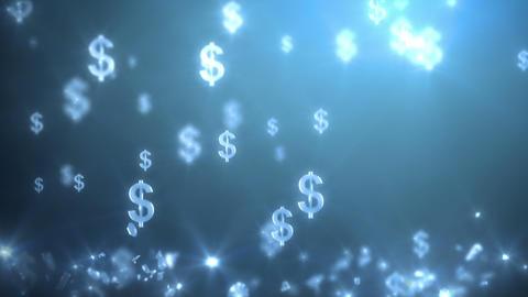 money rain background, dollars Animation